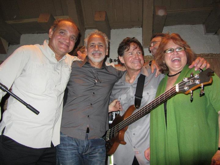 Alfredo, Carlos, Alex, Frank and Lina at the Clockwork performance at the 94th Aero Squadron in Miami Florida on March 16, 2012