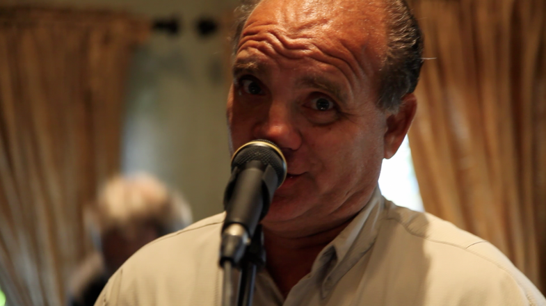 Alfredo at the Clockwork performance during the 94th Aero Squadron in Miami Florida on March 16, 2012