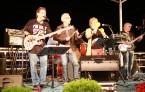Alex Cobos, Carlos Segura, Lina Arguelles and Mandy Freyre at Bayside, December 27, 2012