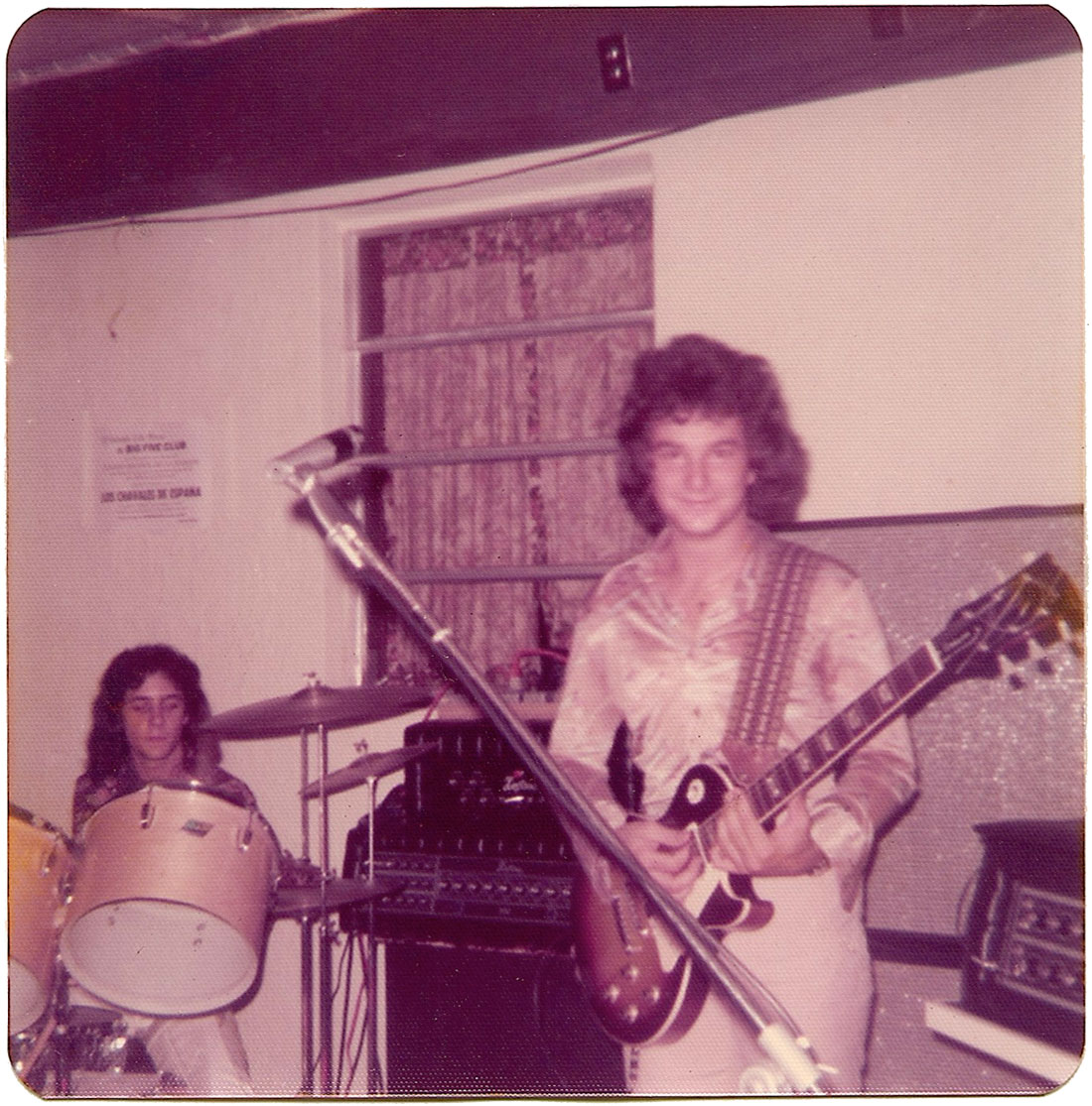 Carlos Segura Frank Miret at The Big-5 Club on March 30, 1975