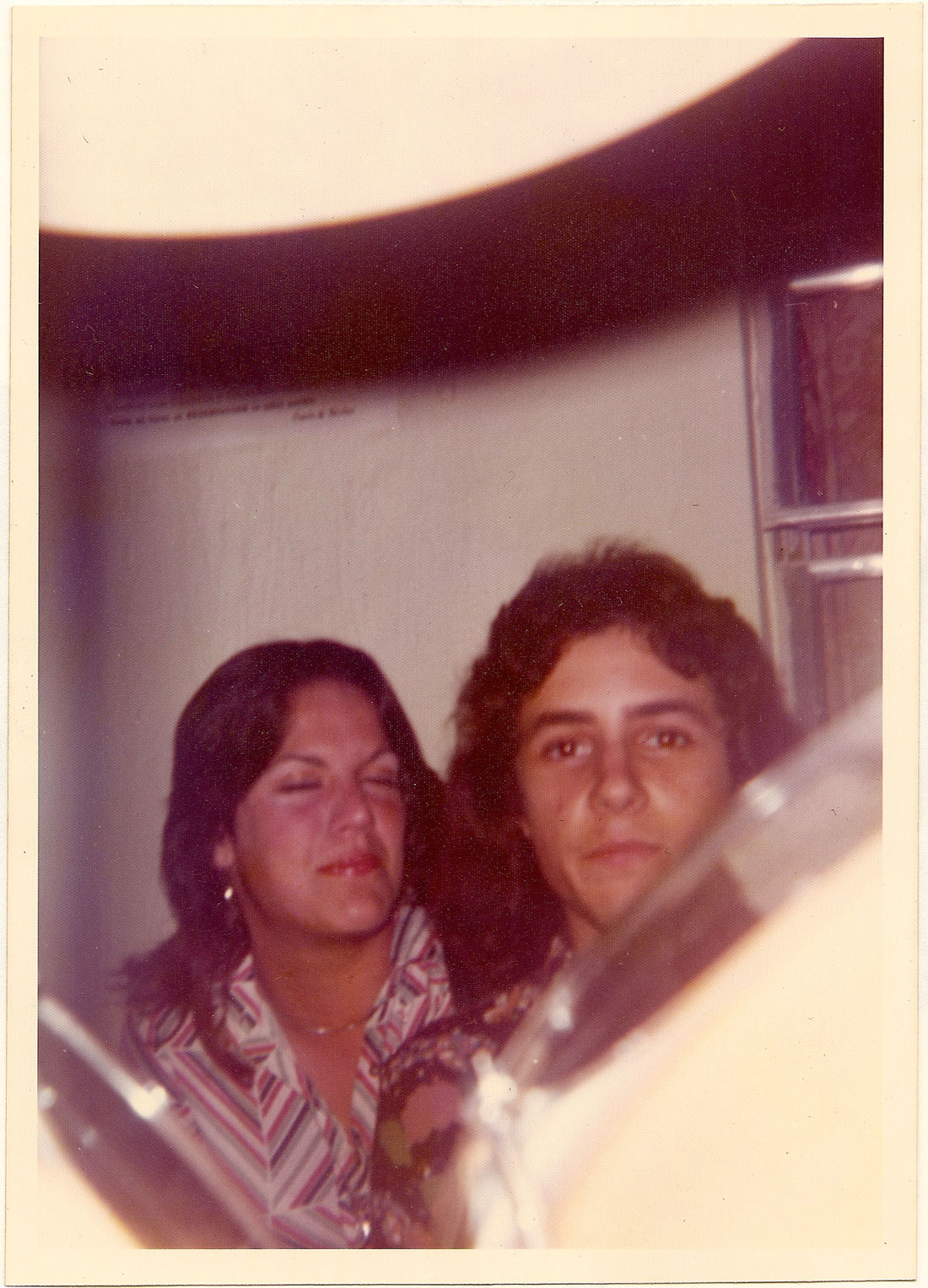 Carlos Segura (and friend) at The Big-5 Club on March 30, 1975