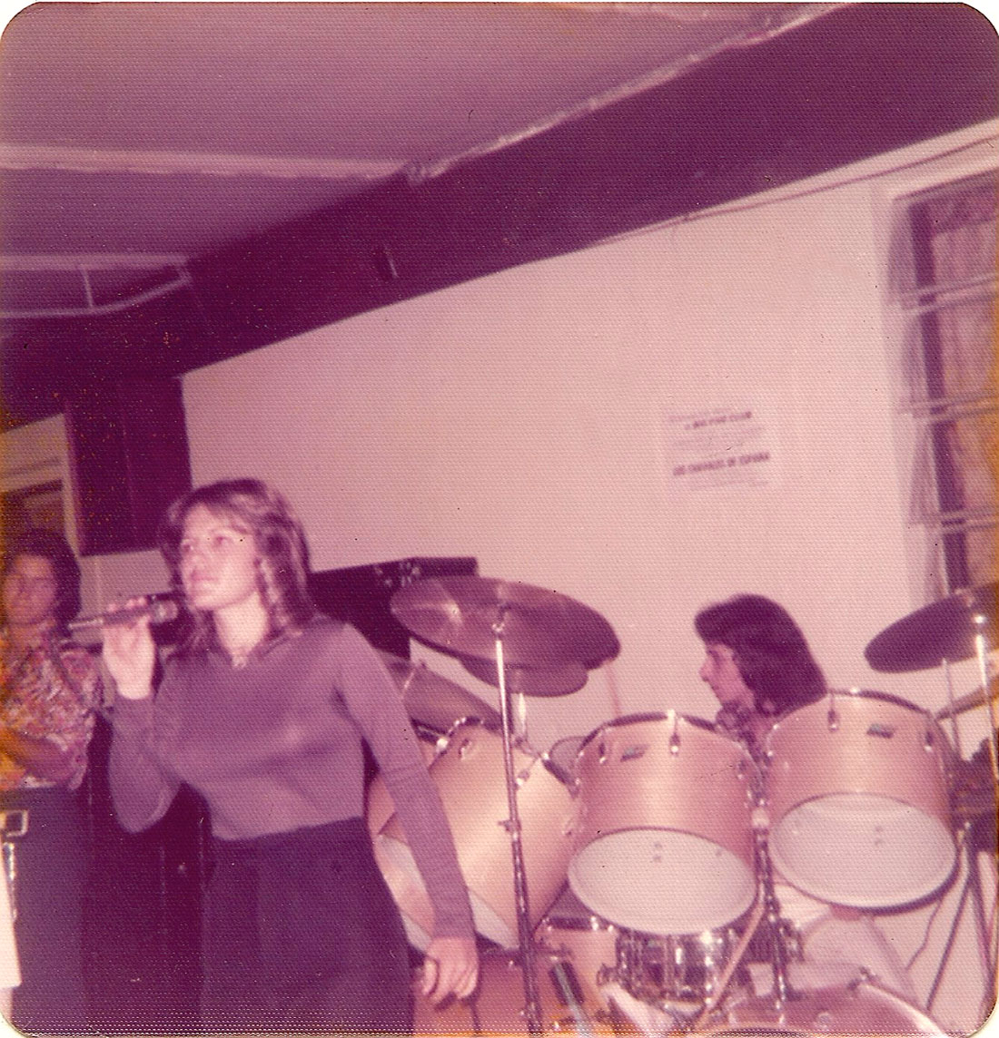 Lina Arguelles and Carlos Segura at The Big-5 Club on March 30, 1975