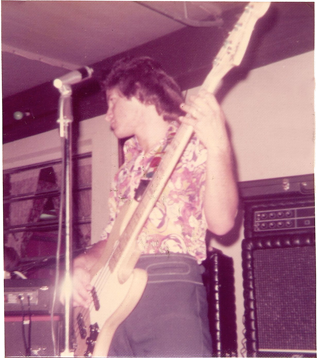Alex Cobos at The Big-5 Club on March 30, 1975