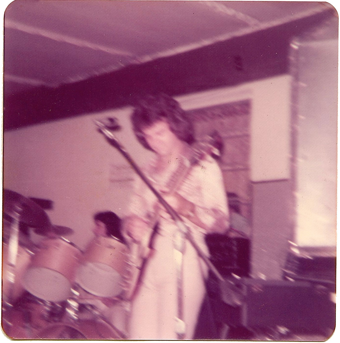 Frank Miret and Carlos Segura at The Big-5 Club on March 30, 1975