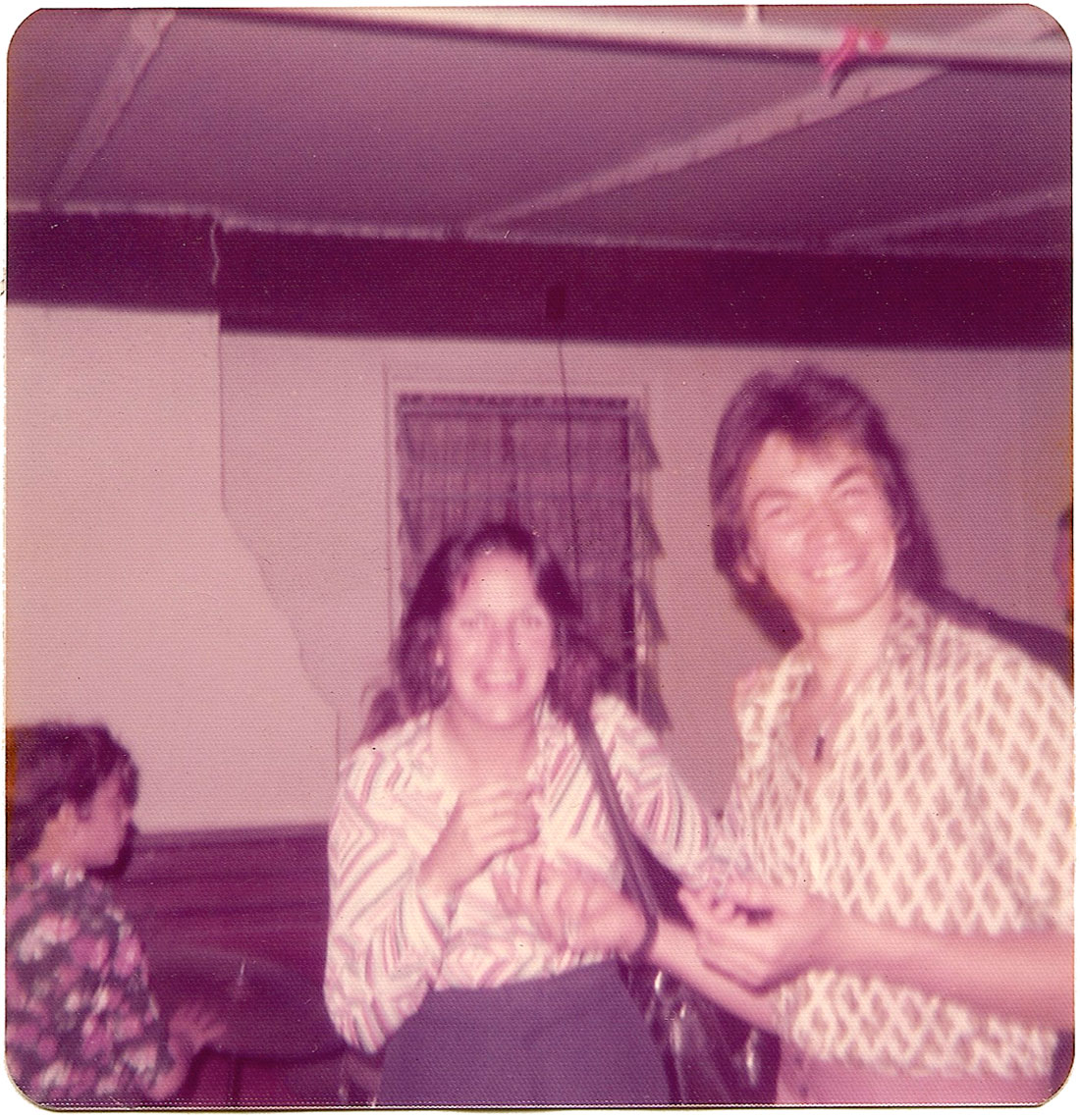 Duane Munera (and friend) at The Big-5 Club on March 30, 1975