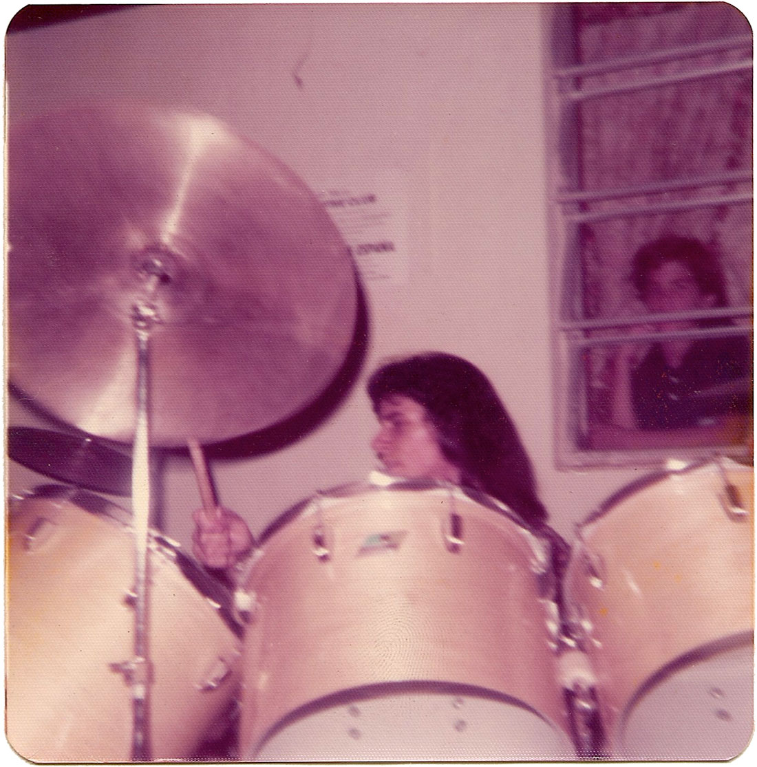 Carlos Segura at The Big-5 Club on March 30, 1975