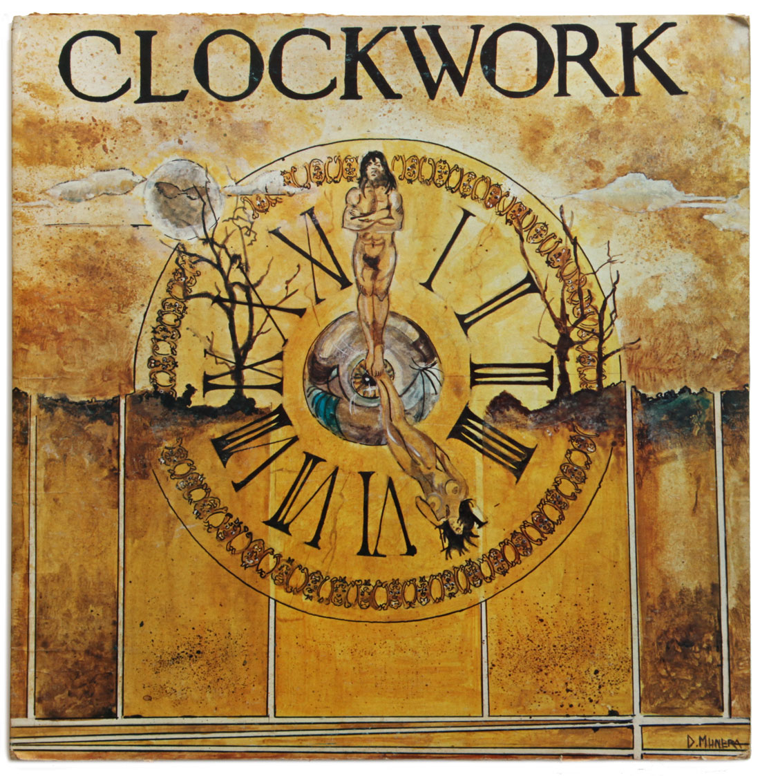 The first Clockwork album (front cover) 1975