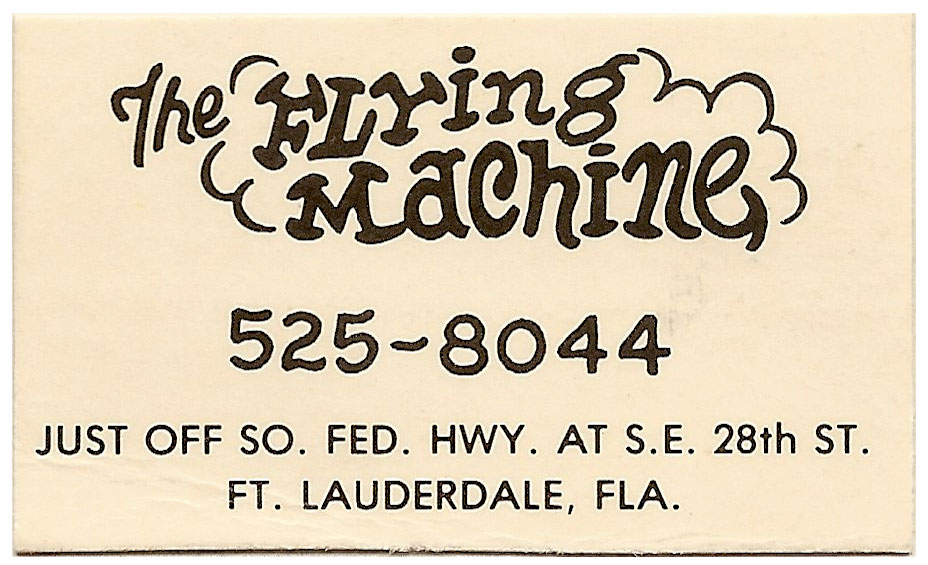 The Flying Machine business card