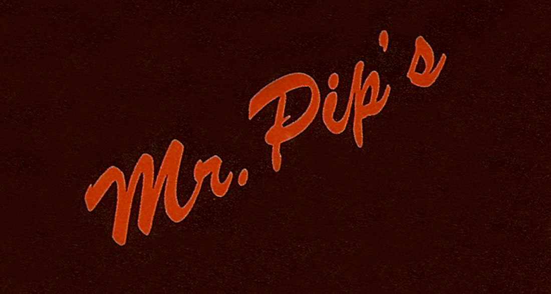 Mr. Pip's logo.