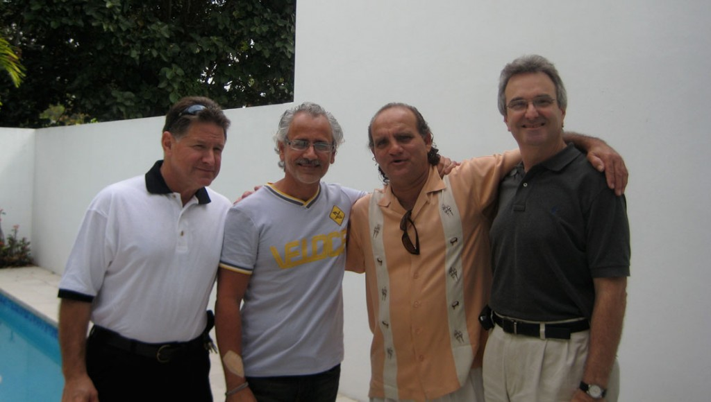 Alex Cobos, Carlos Segura, Alfredo Perez and Frank Miret